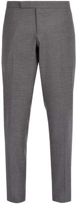 Thom Browne Side-stripe wool trousers
