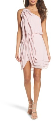 Women's Bcbgmaxazria Waterfall Ruffle Dress $268 thestylecure.com