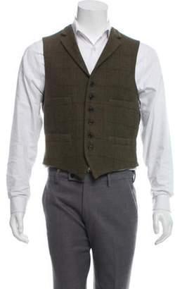 Ralph Lauren Purple Label Wool Suit Vest olive Wool Suit Vest