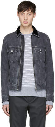Diesel Grey Denim D-Ashton-Zip Jacket