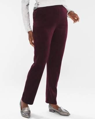 Chico's Chicos Velour Slim Pants
