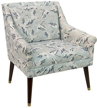 One Kings Lane Carson Accent Chair - Cranes