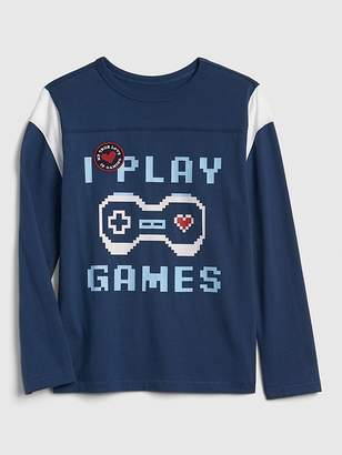 Gap Graphic Football T-Shirt