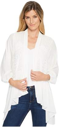 Miss Me Sheer Long Sleeve Cardigan Women's Clothing