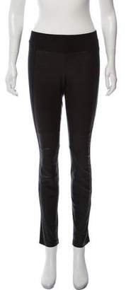 Vince Mid-Rise Skinny Leather Pants
