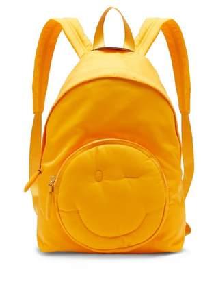 Anya Hindmarch Chubby Wink Nylon Backpack - Womens - Yellow