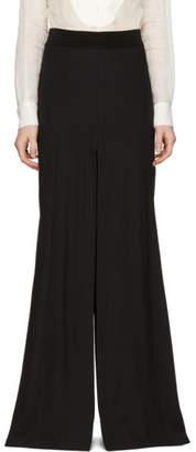 Ann Demeulemeester Black Split Pant Skirt