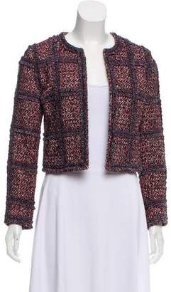 Diane von Furstenberg Cropped Tweed Jacket