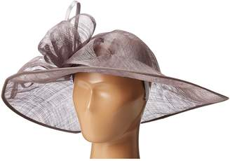 San Diego Hat Company DRS1015 Derby Asymmetrical Fascinator Hat Traditional Hats