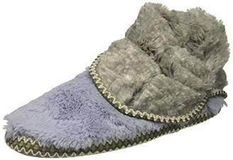 Dearfoams Women's Faux Fur Foldown Boot Slipper