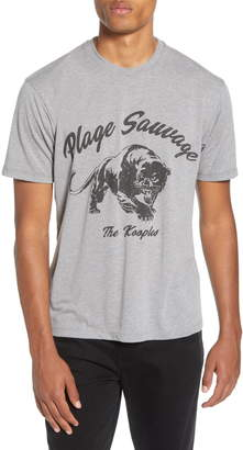 The Kooples Plage Sauvage Panther T-Shirt