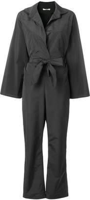 Odeeh belted waist jumpsuit