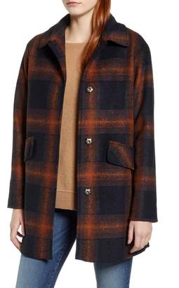 Pendleton Mercer Island Wool Blend Coat