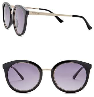 Kenneth Cole Reaction 54mm Metal Round Injected Sunglasses