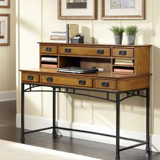 Home Styles Modern Craftsman 2-pc. Executive Desk & Hutch Set