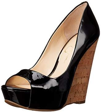 Jessica Simpson Women's Bethani Wedge Pump $29.97 thestylecure.com