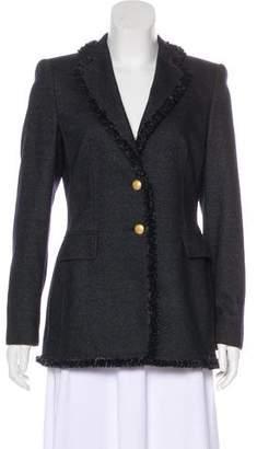 Rena Lange Structured Virgin Wool Blazer