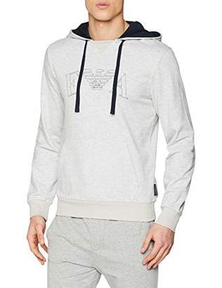 Emporio Armani Men's 9p571 Sports Hoodie,Medium