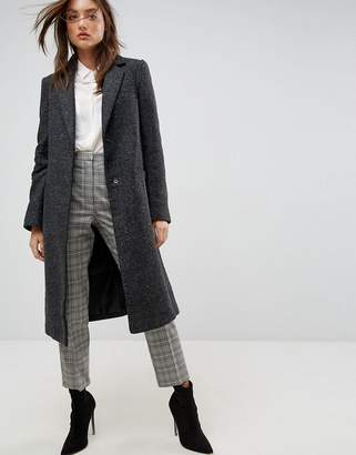 Blend of America Asos Design ASOS Slim Coat in Wool