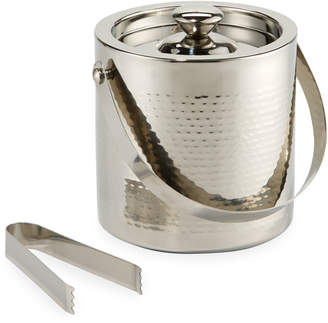 Godinger Hammered Stainless Steel Ice Bucket