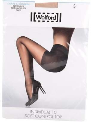 Wolford Individual 10 Soft Control Top Tights w/ Tags