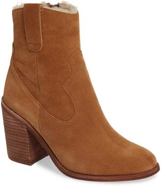 Jeffrey Campbell Guinn Faux Shearling Lined Bootie