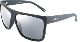 Quay Barnun Rectangle Plastic Sunglasses