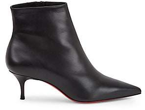 Christian Louboutin Women's So Kate Booty Leather Ankle Boots