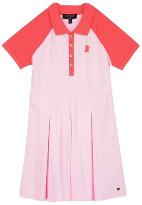 Juicy Couture Colorblock Pique Dress for Girls