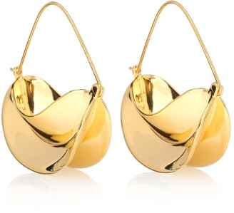 Anissa Kermiche Paniers Dores 18kt gold-plated earrings