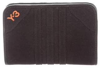 Y-3 Embroidered Snap Wallet