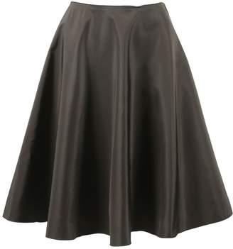 Prada Green Silk Skirts