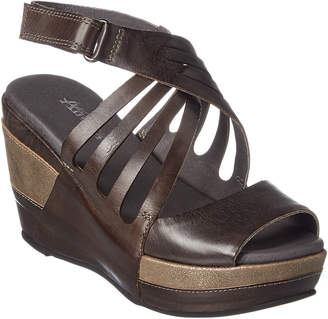 Antelope 627 Leather Wedge Sandal
