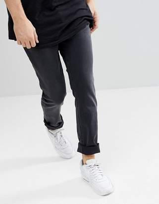 Class Roberto Cavalli Super Skinny Jeans In Black