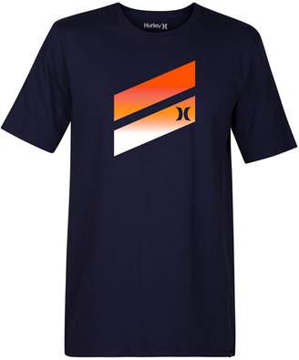 Hurley Men's Icon Slash Gradient Graphic T-Shirt