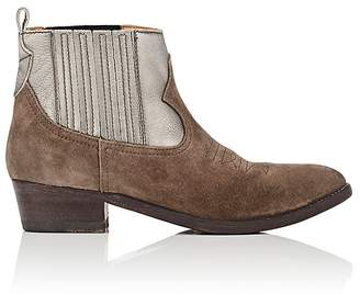Golden Goose Women's Arlene Suede & Leather Ankle Boots
