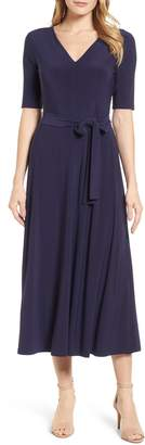 Chaus Lisa Tie Waist Dress