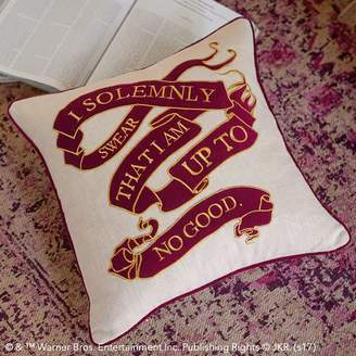 Pottery Barn Teen Harry Potter Marauder's Map Pillow Cover & Insert