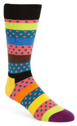 Men's Happy Socks Stripe Socks $12 thestylecure.com