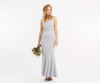 Oasis SLINKY BOW MAXI DRESS*
