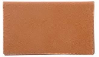 Hermes Epsom Checkbook Cover