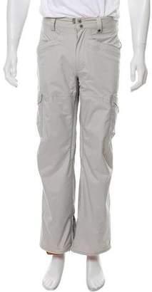 Burton High-Rise Straight Leg Pants
