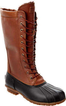 Australia Luxe Collective Women's Luxe Havea Tall Leather Duck Boot