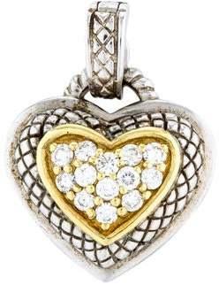 Judith Ripka Diamond Heart Enhancer