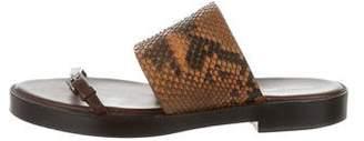 Michael Kors 2016 Python Platform Sandals