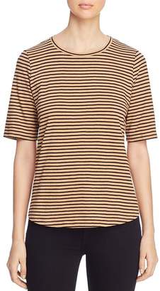 Eileen Fisher Striped Organic-Cotton Tee