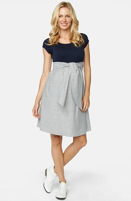 Women's Maternal America Scoop Neck Maternity Dress $148.80 thestylecure.com