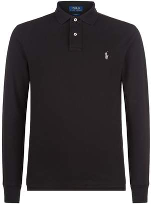 Polo Ralph Lauren Slim Fit Long Sleeved Polo Shirt