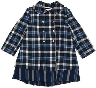 Reversible Wool Flannel Coat
