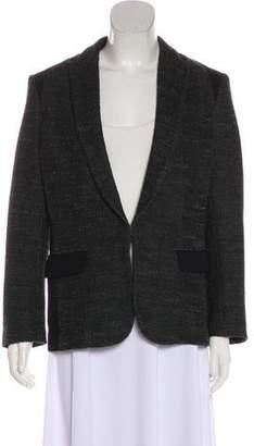 Rag & Bone Peak-Lapel Long Sleeve Blazer